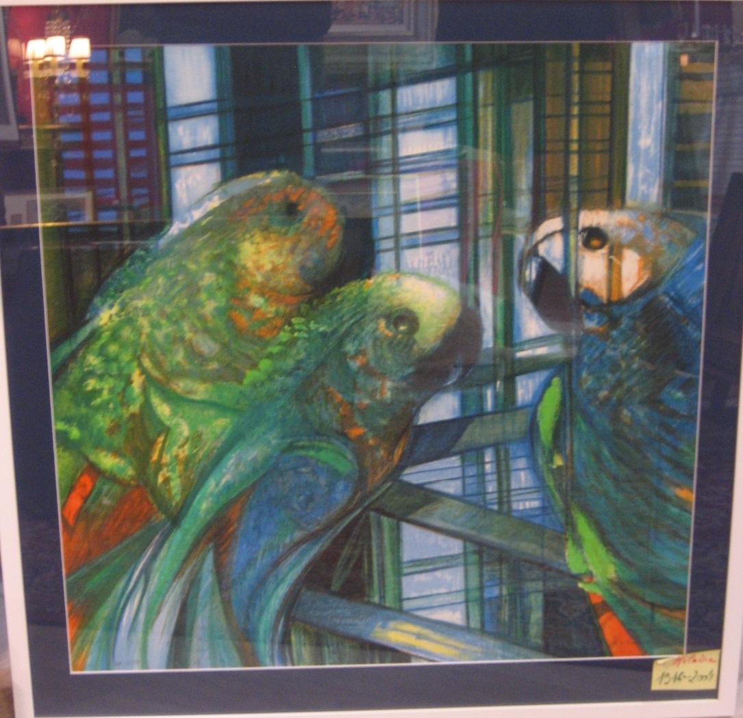 Camille hilaire les perroquets