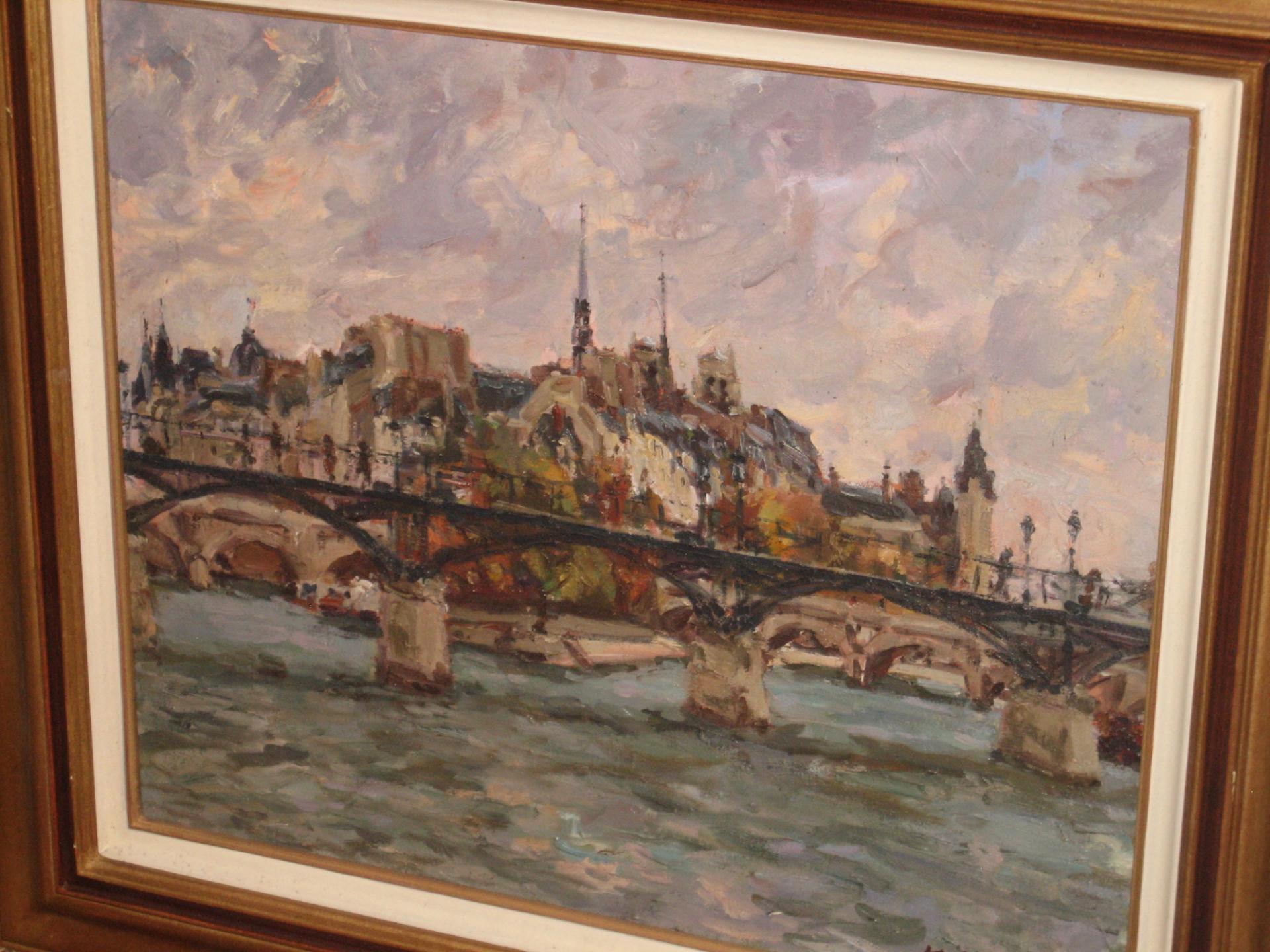 Kasuki yoshioka pont des arts
