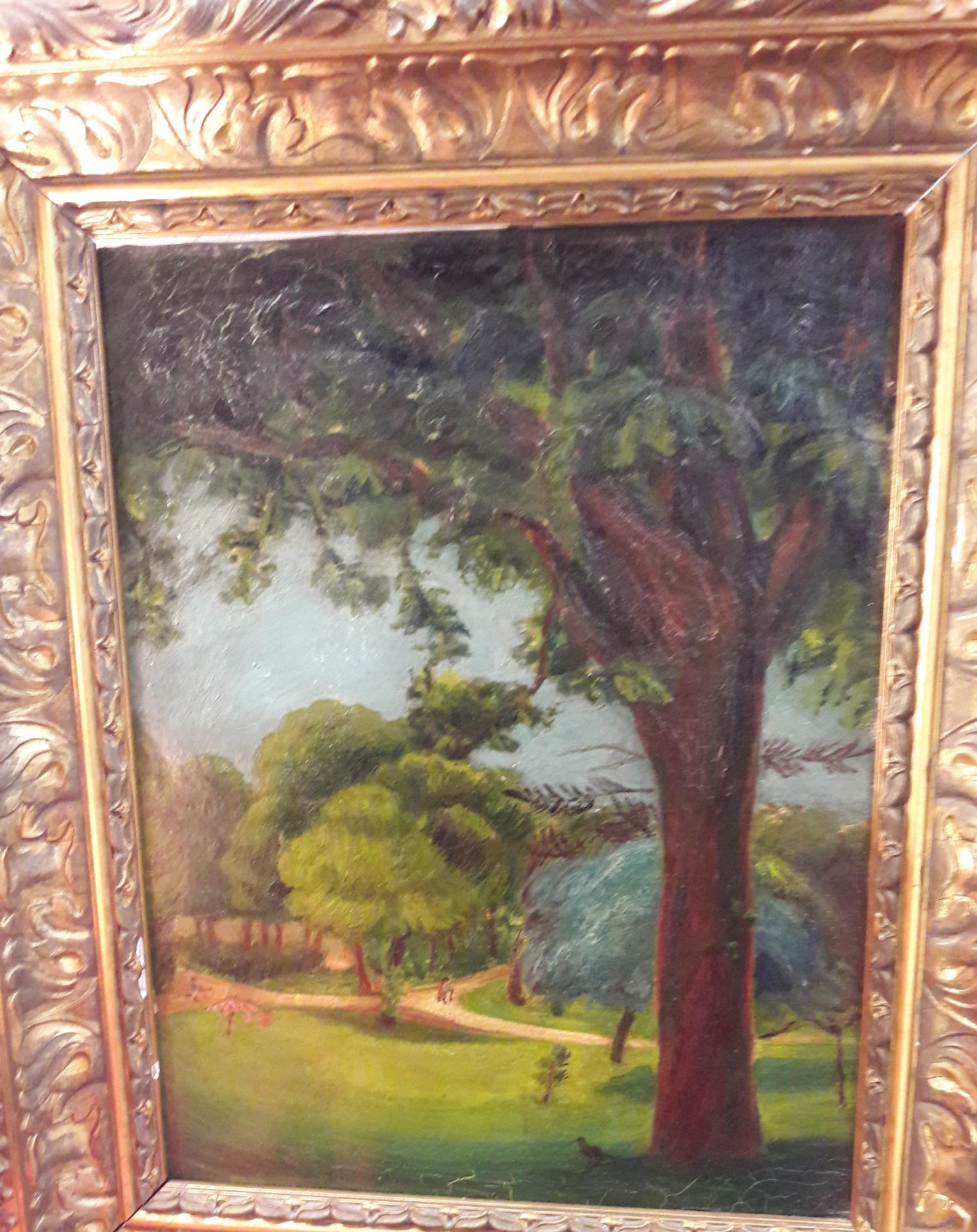 """Le parc"" circa 1900."