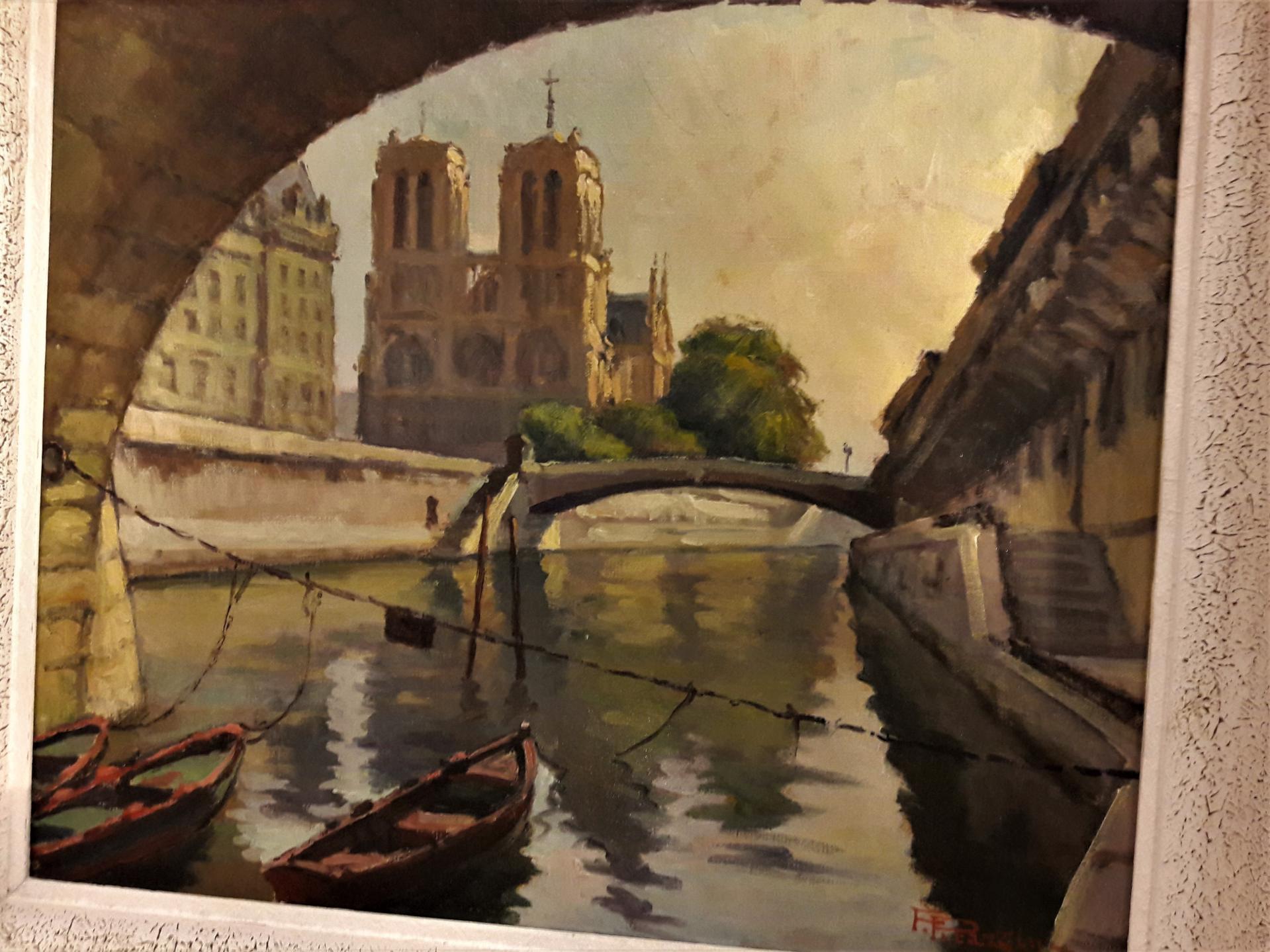"""""""Notre-Dame"""" par Fortuné Pizzarini."""
