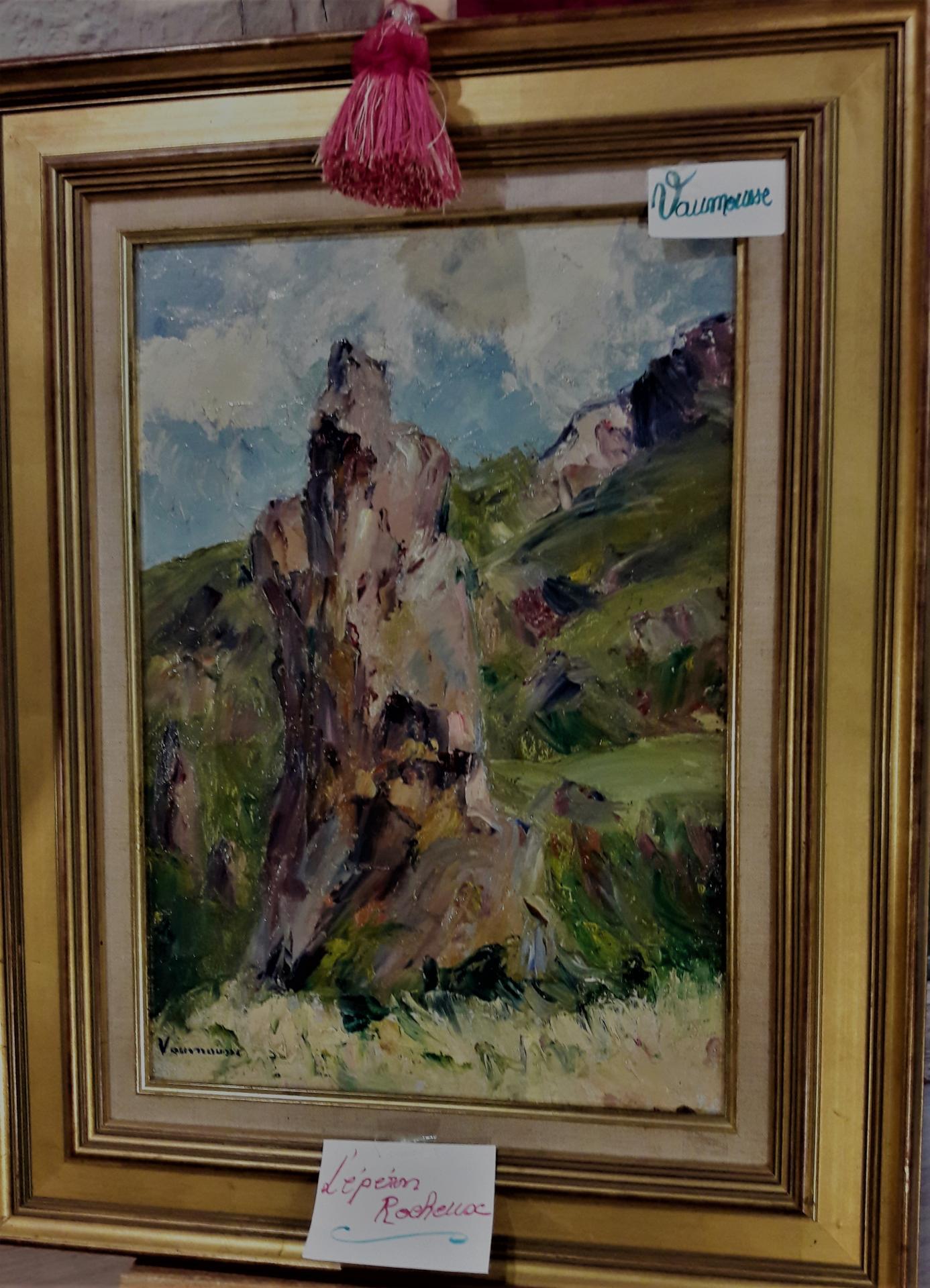 L'éperon rocheux, par M. Vaumousse.